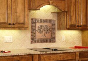 Copper Tiles Backsplash Brass Tiles Stainless Steel Tiles By Copper Craft